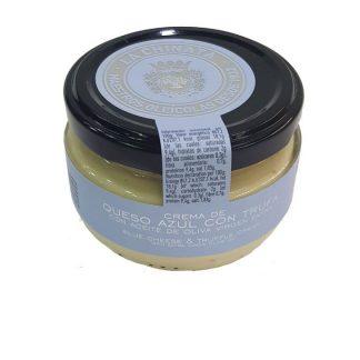 Crema de queso azul y trufa